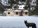 My dog jack loves being at Ericht Cottage