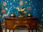 Beautiful Chinese hand painted wallpaper