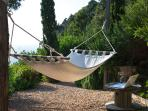 hammock outdoor area