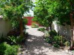 Enjoy our beautiful, enclosed garden