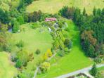 7 acres of organic orchards and fields; close to Mapua seaside village and Abel Tasman National Park