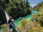 Abel Tasman National Park starts 35 minutes away from The Paris Suite
