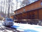 A brand new family-friendly lodge in Echoland Village with possibility of a private driver for free!