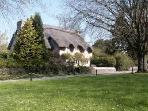 Merthyr Mawr within a short drive from the house , go for a walk and discover the thatched cottages