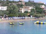 Ammoudara beach sea sports
