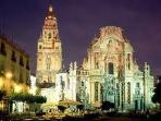 Murcia City by night