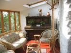Trallwyn 300 yr old Farmhouse conservatory