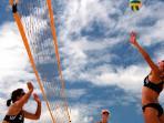 beach volley ball equipment supplied