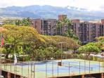 Lighted Tennis Courts at Royal Kahana