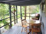 Large Deck -to sit and relax- overlooking bushlsnd and mangoe plantation