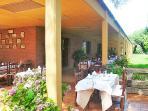 Restaurant close to VILLA ANTONIA