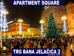 Advent in Zagreb on the central square - Jelacic Square, destination from the Apartment Square - 0m
