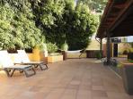 Terraza de Los Jazmines, Hamacas y Jacuzzi en un lugar muy tranquilo.