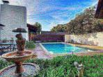 Pool on main living level