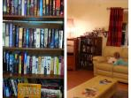 If you love reading why don't you borrow / or replace with your own book from our little library