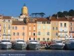 The mythical marina of Saint-Tropez its boats and the internationally recognised boutiques