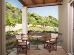 Sun Villa - back terrace