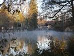 La Seine  en automne
