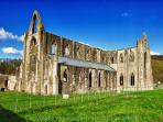 Nearby Tintern Abbey steeped in history