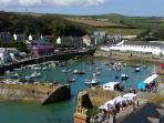 Porthleven - beautiful harbour town with a Rick Stein restaurant