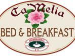 Logo B&B Ca'Melia