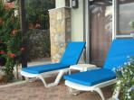Bedroom 4 opening onto pool terrace