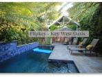 ...With a Private Heated Pool with Waterfall and a Separate Detached Cottage