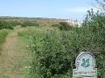 Walk from the site onto Bembridge Down for spectacular views
