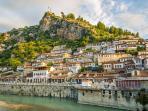 Hostel Mangalem, Berat, Albania. We are central in this UNESCO World Heritage Site!