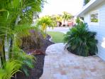Exquisitely landscaped exterior makes every part of the property a garden paradise.