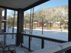 Look out to the Village at Winter Park Resort