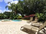 Garden Pool Deck area