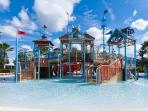 The playground in the Resorts water park
