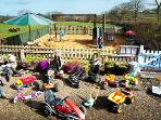 Fabulous Play Park and a huge range of ride-on toys for your children's own personal use