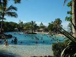 Settlement Cove Lagoon - fun pool complex for adults and children of all ages. Just 1 km away