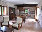 Spacious Living/Dining room!