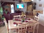 Dining Room and Liviing Room