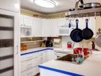 Prepare your favorite meals in the fully equipped kitchen, complete with all necessary cooking appliances!