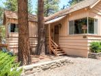 A quiet mountain retreat awaits you at this inviting Wrightwood vacation rental cabin.