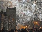 Dornoch Hogmanay celebrations.