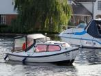The Norfolk broads nature reserve is within easy travelling distance