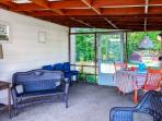 You'll love spending your downtime on the expansive screened porch.