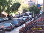 Street view from front door
