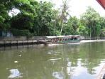 Bangkok - Khlong (Canal) taxi