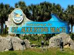 Welcome to St. Augustine and Saint Augustine Beach