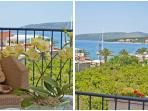 The Villa Marini Dvori is beautiful and cosy Dalmatian house. It's got  a fantastic view of the sea.