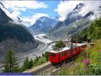Chamonix - Mer de Glace  Mont Blanc