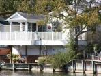Picture of the house from the lake