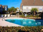 The Seabridge community pool is just a short walk from the house
