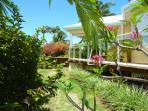 villa iguane house jardin